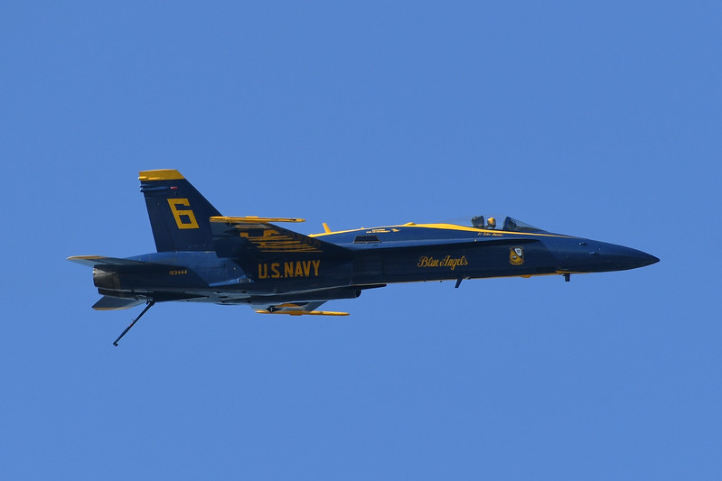 Blue Angels - SF Fleet Week 2017