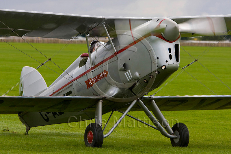 Arrow Active II, based at Breighton, puts in a guest appearance at Sywell (Northampton)