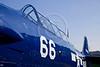 T-6 Harvard Mark 4, US Navy trainer, at Breighton, Yorkshire