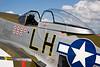 Artwork on a World War 2 P-51 Mustang