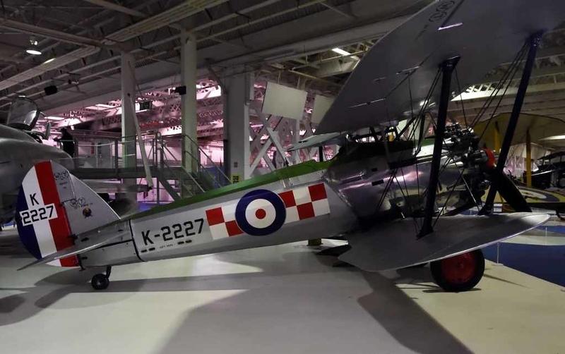 1929 - Bristol Bulldog Mark IIA 'K-2227', Royal Air Force Museum, Hendon, 10 September 2015 2.