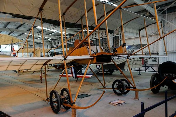 1910 - Replica Bristol Boxkite, Shuttleworth Collection, Old Warden, Bedfordshire, 30 December 2012 1. The Boxkite was the the first aircraft designed and built by the Bristol Aeroplane Company.  It was very successful, and 79 were built.