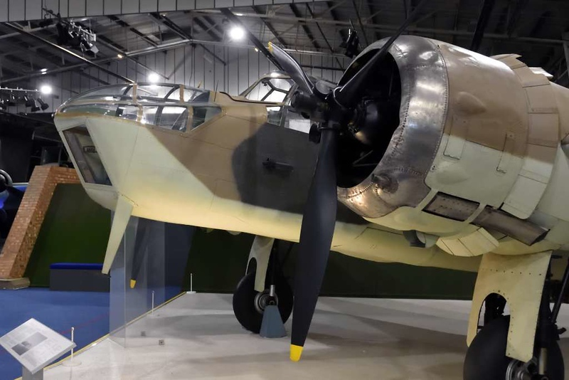 1937 - Bristol 'Blenheim IV L8956', Royal Air Force Museum, Hendon, 10 September 2015 2. This Bolingbroke has been painted to represent a Blenheim of 139 Squadron RAF.