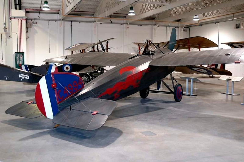 1917 - Replica Bristol M.1C C4994, Royal Air Force Museum, Hendon, 18 September 2007 2.  By 2018 this aircraft had moved to Cosford.