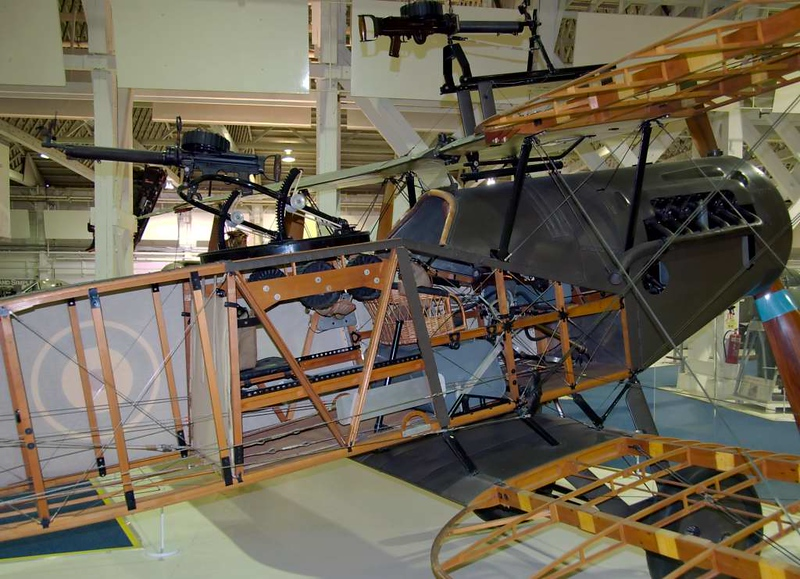 1917 - Bristol F.2B 'E2466', Royal Air Force Museum, Hendon, 18 September 2007 2. This aircraft is a composite rebuild.