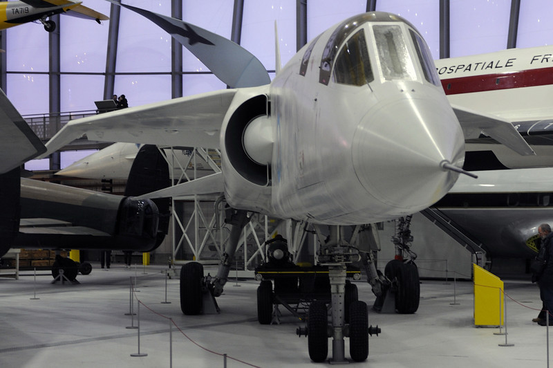 British Aircraft Corporation TSR2 XR222, Imperial War Museum, Duxford, 31 December 2012 1.  Like XR220, XR222 never flew.