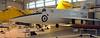 Saunders Roe SR53 XD145, Royal Air Force Museum, Cosford, Fri 14 December 2012.  Prototype mixed power jet / rocket interceptor, first flew in 1957.