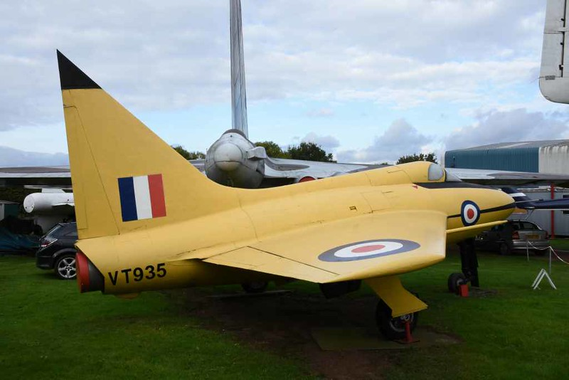 Boulton Paul P111A VT935, Midland Air Museum, Coventry, 8 October 2017 3.