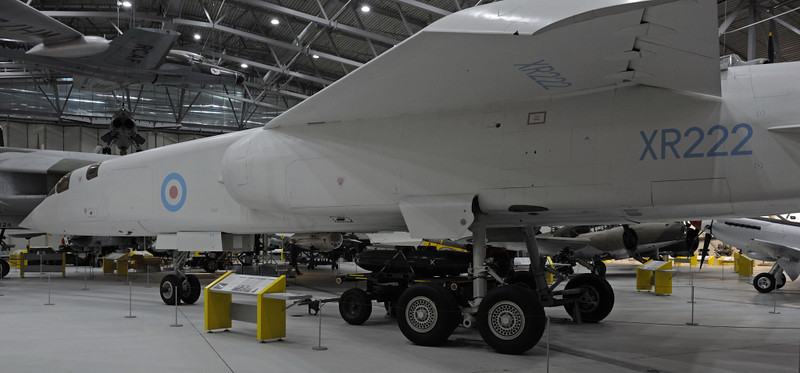 British Aircraft Corporation TSR2 XR222, Imperial War Museum, Duxford, 31 December 2012 2.