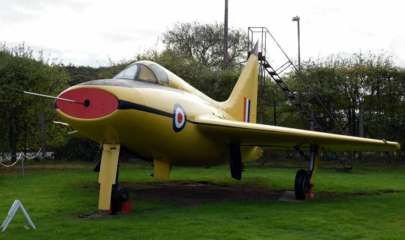Boulton Paul P111A VT935, Midland Air Museum, Coventry, 8 October 2017 2.
