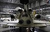 Soviet Buran space shuttle, Speyer Technik Museum, Germany, 19 March 2013 10.  Buran was lifted into space by a giant Energia rocket; its engines were only used for manoeuvres.  By contrast, the US space shuttle used its own engines and external boosters to enter space.