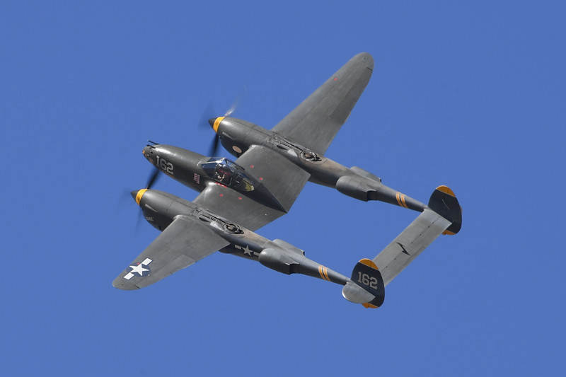 P-38 - California Capital Airshow 2016