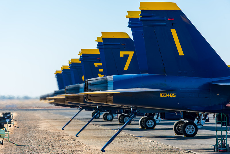 Blue Angels - California Capital Airshow 2016