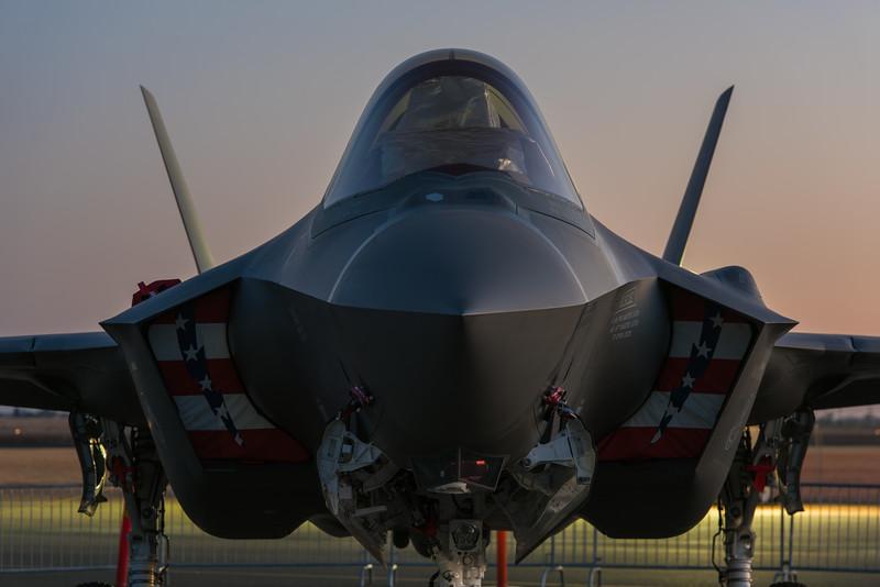 F-35A - California Capital Airshow 2016