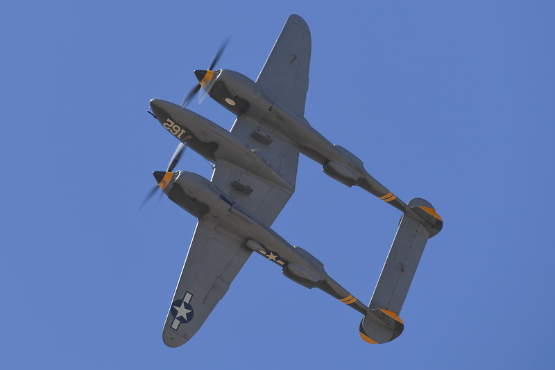 P-38 - California Capital Airshow 2016