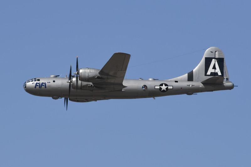 "B-29 ""Fifi"" - California Capital Airshow 2016"