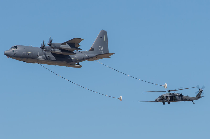 CA ANG HC-130J and HH-60G