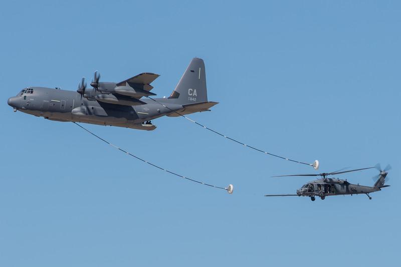 CA ANG HC-130J and HH-60G