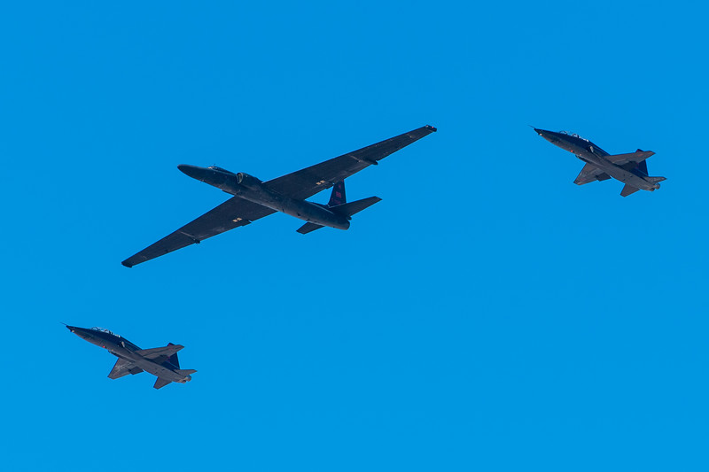U-2 and T-38s