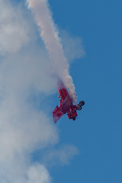 Vicky Benzing and her Boeing Stearman