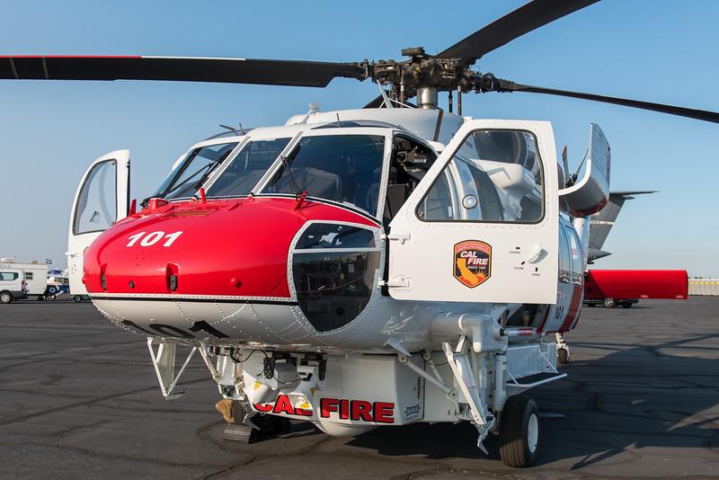 Cal Fire's new S-70i Firehawk