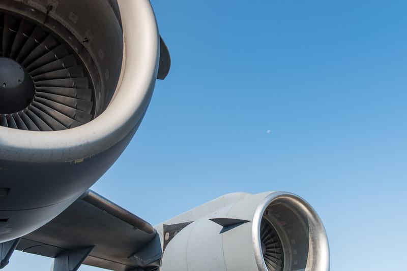 F117 engines on C-17 Globemaster III