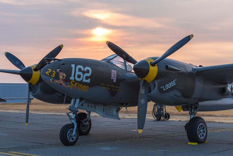 """P-38 Lightning """"23 Skidoo"""""""