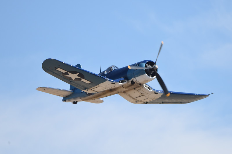 F4U at California International Airshow Salinas