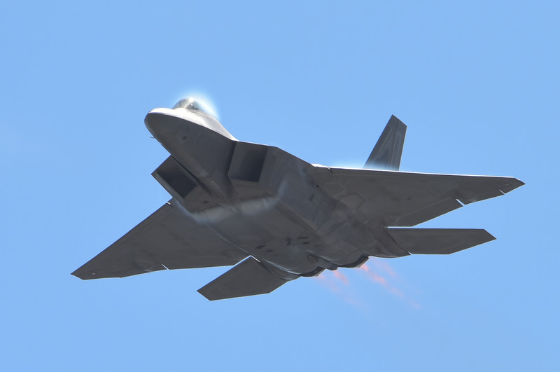 F-22 at California International Airshow Salinas