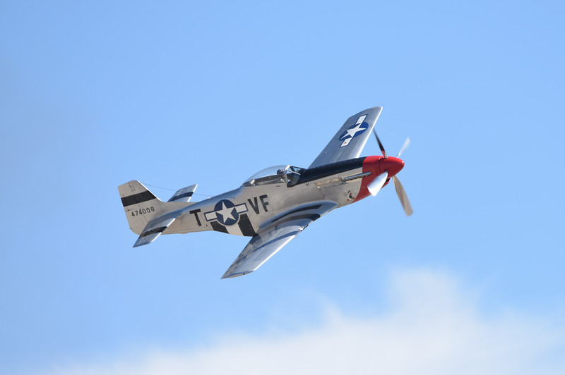 P-51 at California International Airshow Salinas