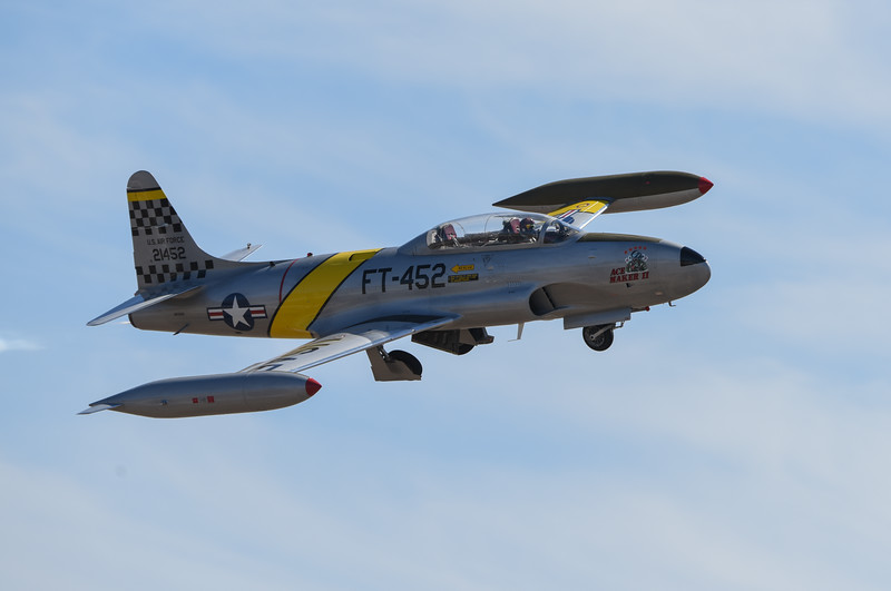 T-33 at California International Airshow Salinas