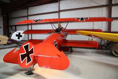 Replica Fokker Dr.1 Triplane, N1839 / '127/17' - 09/03/19