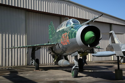ex-Polish AF Mikoyan Gurevich MiG-21US 'Mongol-B', 4504 red - 09/03/19