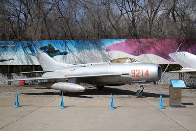 Shenyang J-6 Fighter (Chinese built version of Mig-19 'Farmer'), 9214, China Aviation Museum, Datangshan - 26/03/17.