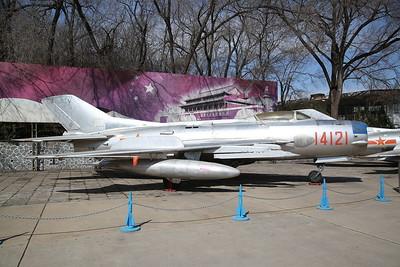 Shenyang J-6B / DF-105 Fighter (Chinese built version of Mig-19 'Farmer'), 14121, China Aviation Museum, Datangshan - 26/03/17.