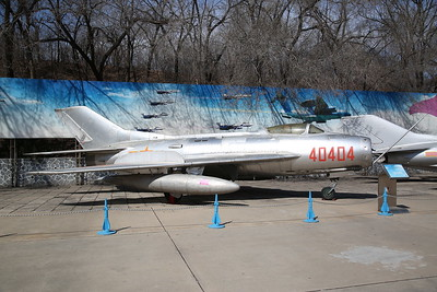 Shenyang J-6II, Single seat fighter prototype (based on Mig-19 'Farmer'), 40404, China Aviation Museum, Datangshan - 26/03/17.