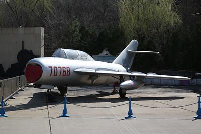 Chengdu JJ-5, 2-seat trainer (based on Mig-17 'Fresco'), 70768, China Aviation Museum, Datangshan - 26/03/17.