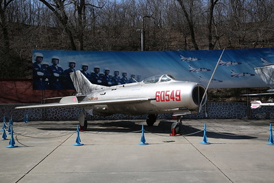Shenyang J-6 / DF-102 Fighter (Chinese built version of Mig-19 'Farmer'), 60549, China Aviation Museum, Datangshan - 26/03/17.