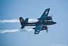 F7F Tigercat with smoke on