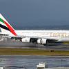 EK412, A6-EDE landing on RWY 23L, Auckland, NZAA, New Zealand.