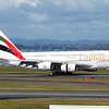 EK412, A6-EDM landing on RWY 23L, Auckland, NZAA, New Zealand.