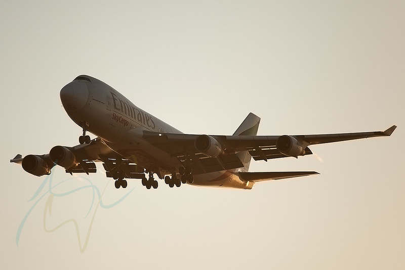 EK9956 (OO-THC) arriving from ZAZ on this beautiful early morning light