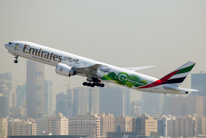 Emirates World Cup 2014 Pele Signature Special Livery