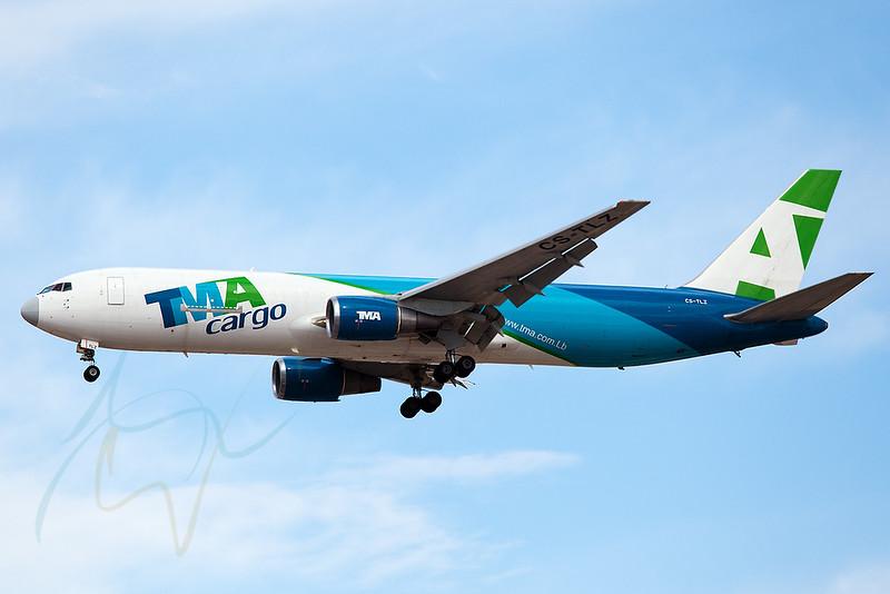 TMA CS-TLZ (TMA223) arriving from KWI.