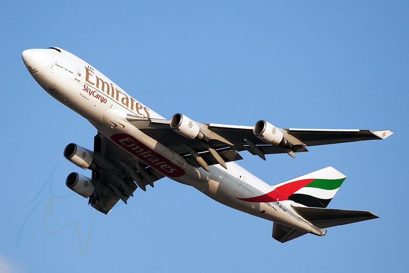 UAE9882 to HKG, OO-THD.