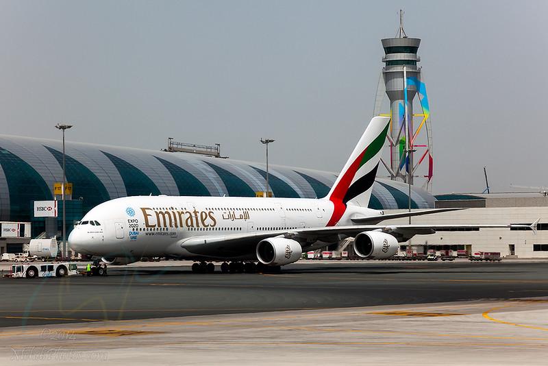 EK A380 A6-EDY