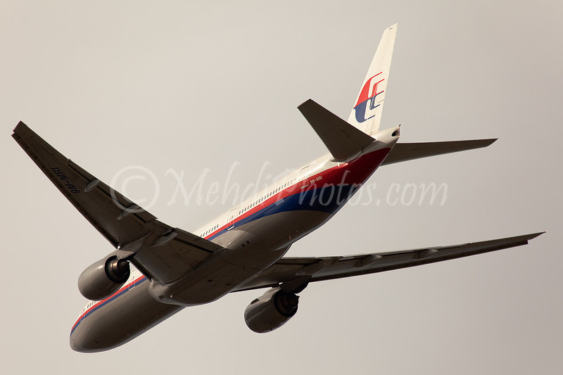 MH 148, 9M-MRI: The last flight of MH777 out of MEL. The next flight operated by MH A333.