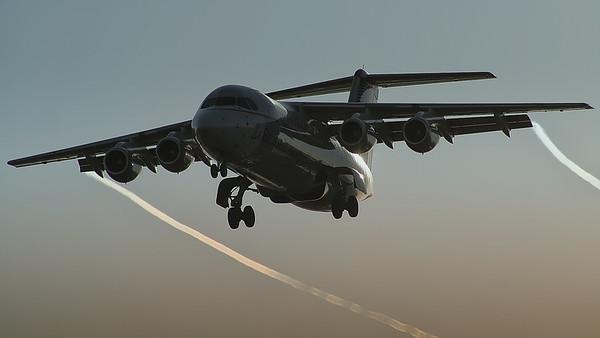 Brussels Airlines BAe-146