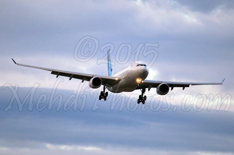 PK-GPM landing on RWY 34, YMML.