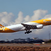 Scoot 1 taking off 16R heading for Singapore.